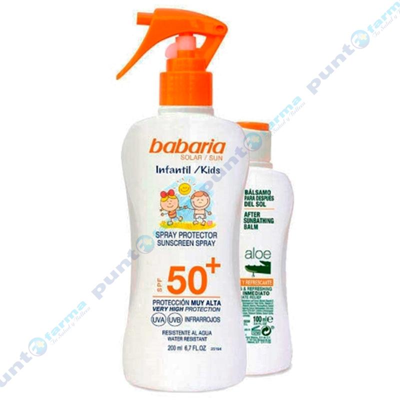 Imagen de producto: Spray Protector Infantil SPF50 Babaria - 200mL