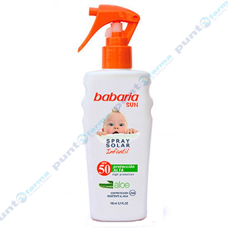 Imagen de producto: Spray Solar Infantil SPF50 Babaria - 150mL