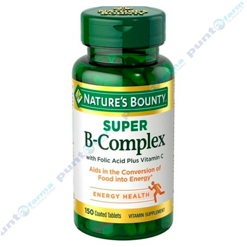 Imagen de producto: Super B-Complex Nature's Bounty® - Cont. 150 tabletas