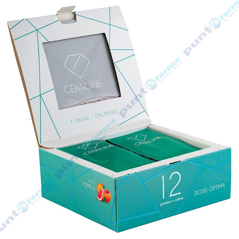 Imagen de producto: Suplemento Dietario Gennuine sabor pomelo - Caja de 15 sobres