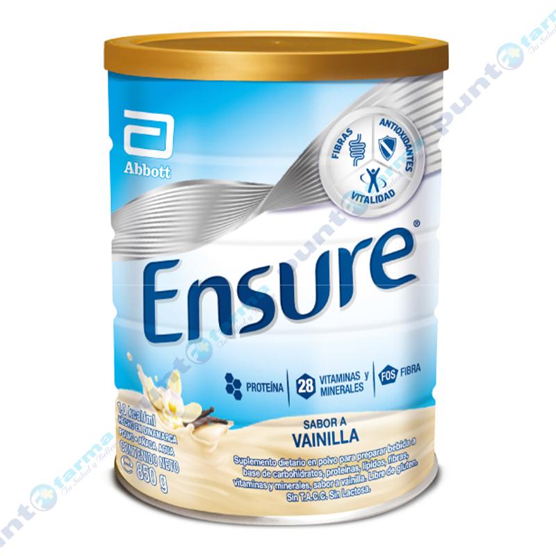 Imagen de producto: Suplemento Nutricional sabor a Vainilla Ensure® - 850 gr