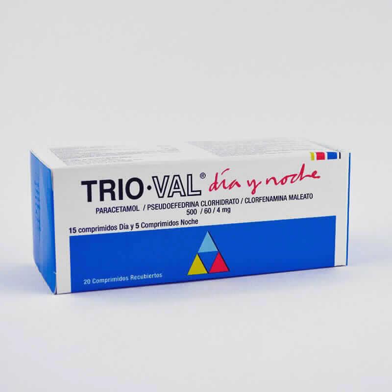 Imagen de producto: TRIO-VAL® Día y Noche - Caja de 15 comprimidos Día y 5 comprimidos noche