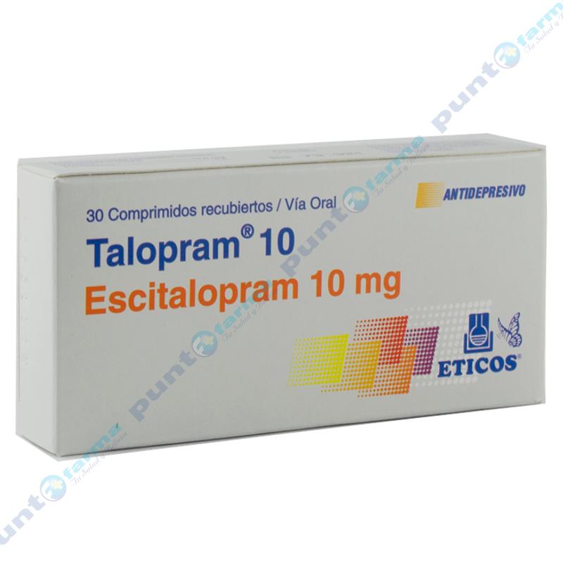 Imagen de producto: Talopram® 10  - Caja 30 comprimidos recubiertos