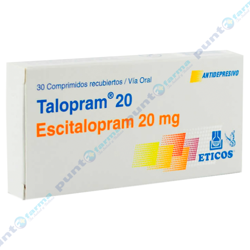 Imagen de producto: Talopram® 20 - Caja en 30 comprimidos