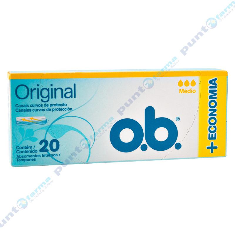 Imagen de producto: Tampones o.b.® Original Medio - 20 unidades