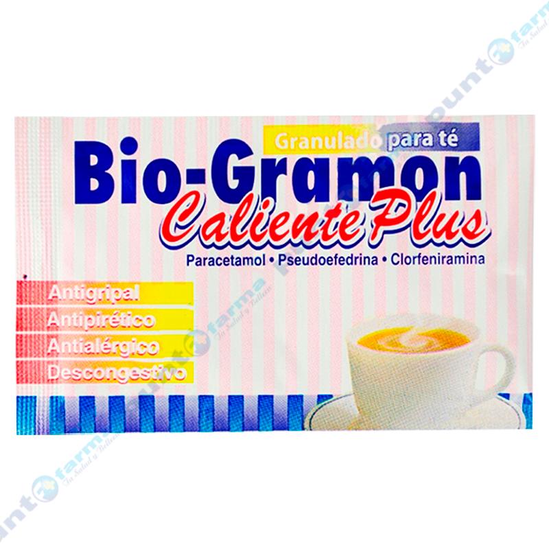 Imagen de producto: Té Bio-Gramon caliente plus - 1 unidad de 3 g
