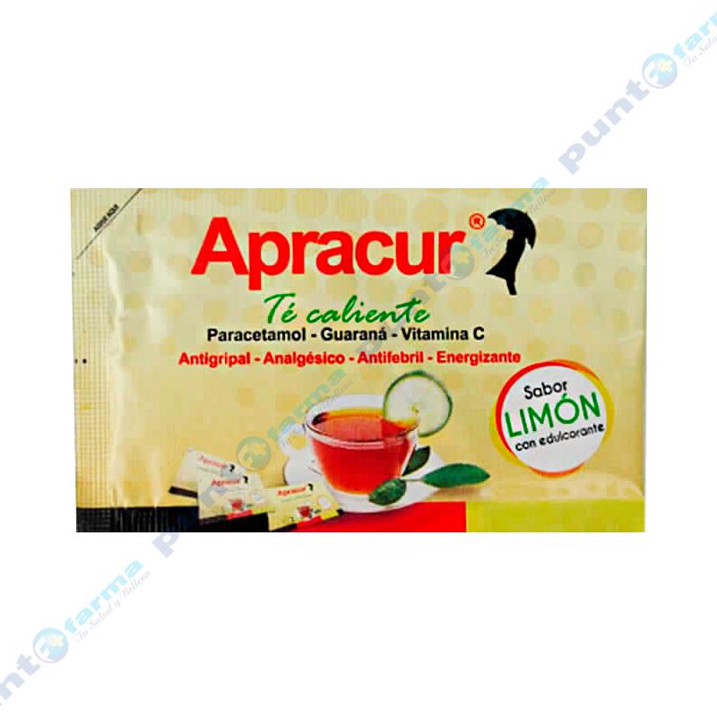 Imagen de producto: Té Caliente sabor Limón Apracur - Contiene 1 sobre