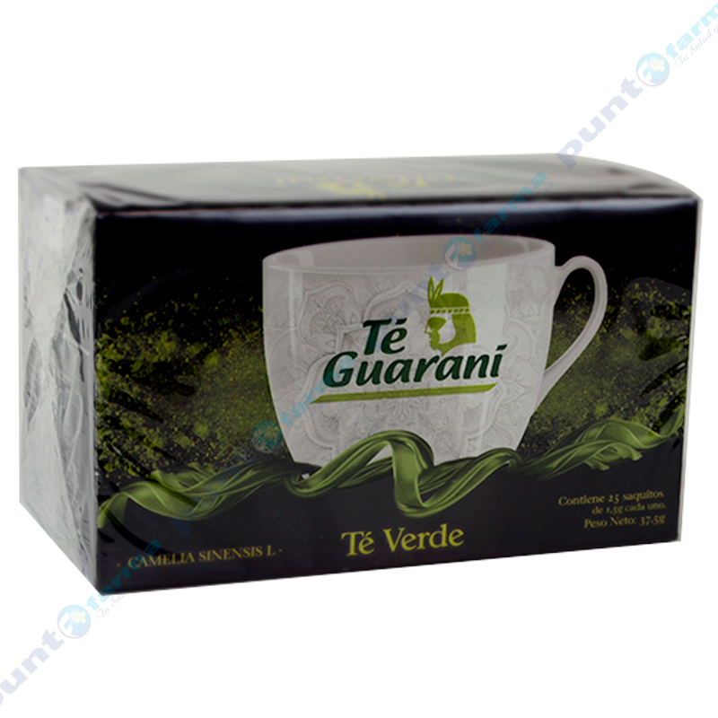 Imagen de producto: Té verde Camelia sinensis L de Té Guaraní - Cont. 25 sauitos de 1,5g c/u