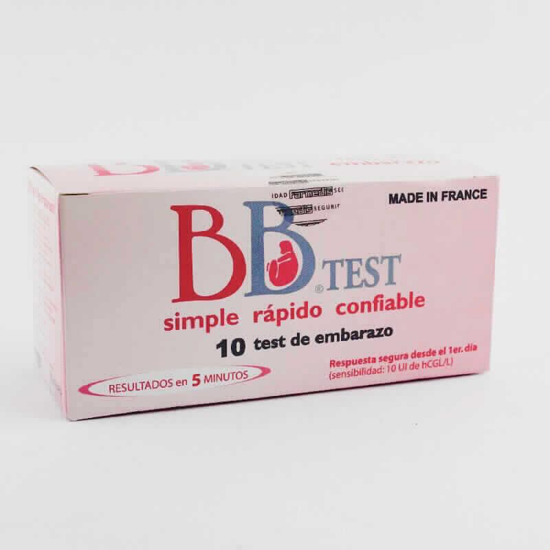 Imagen de producto: Test de embarazo BB® TEST - Contiene 10 test de embarazo