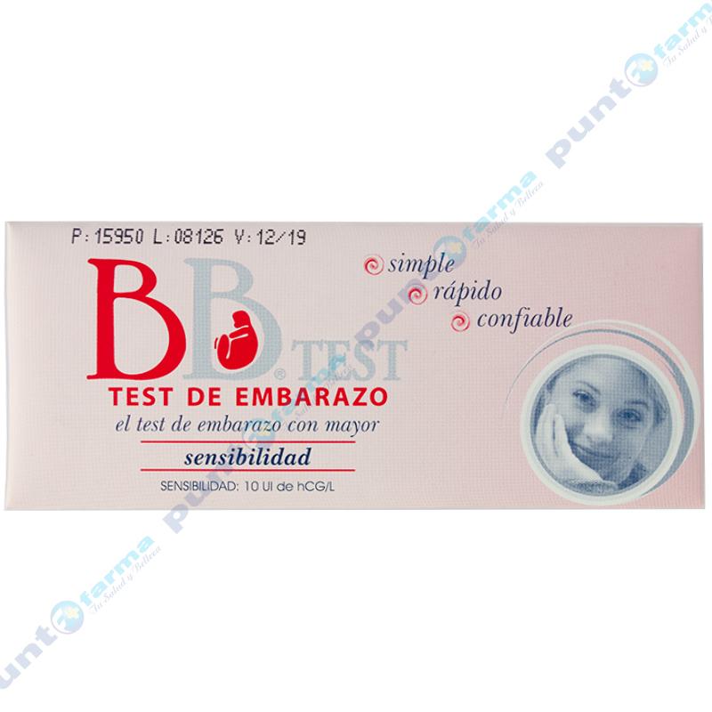 Imagen de producto: Test de embarazo BB®TEST - Cont. 1 sobre