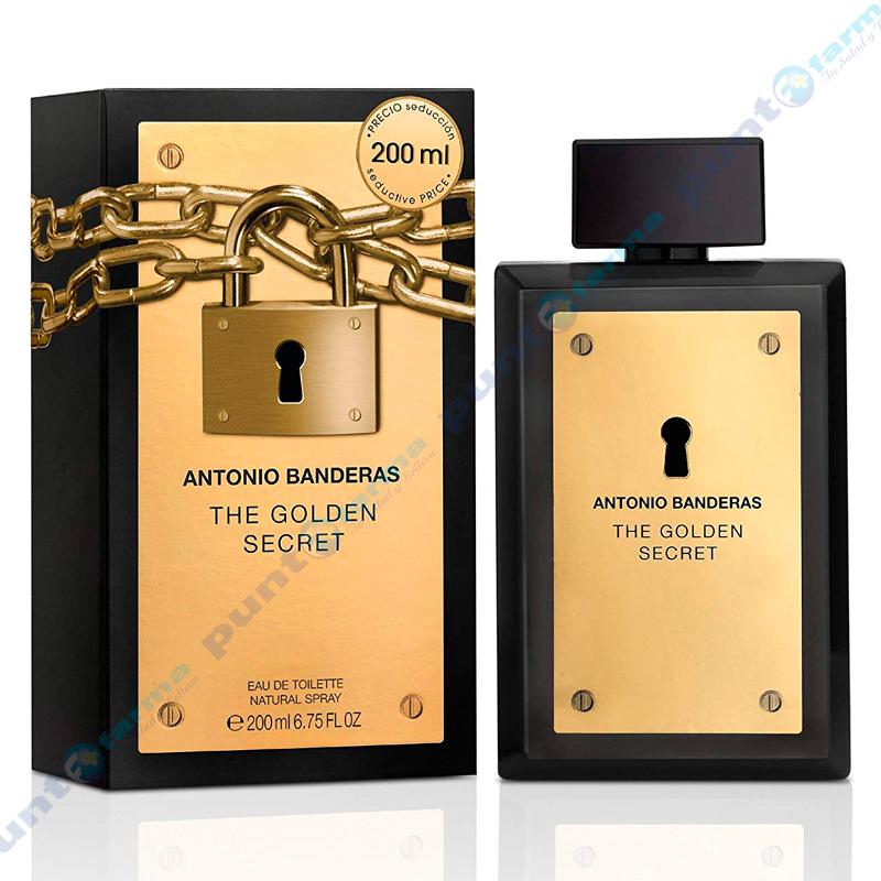 Imagen de producto: The Golden Secret de Antonio Banderas - 200mL