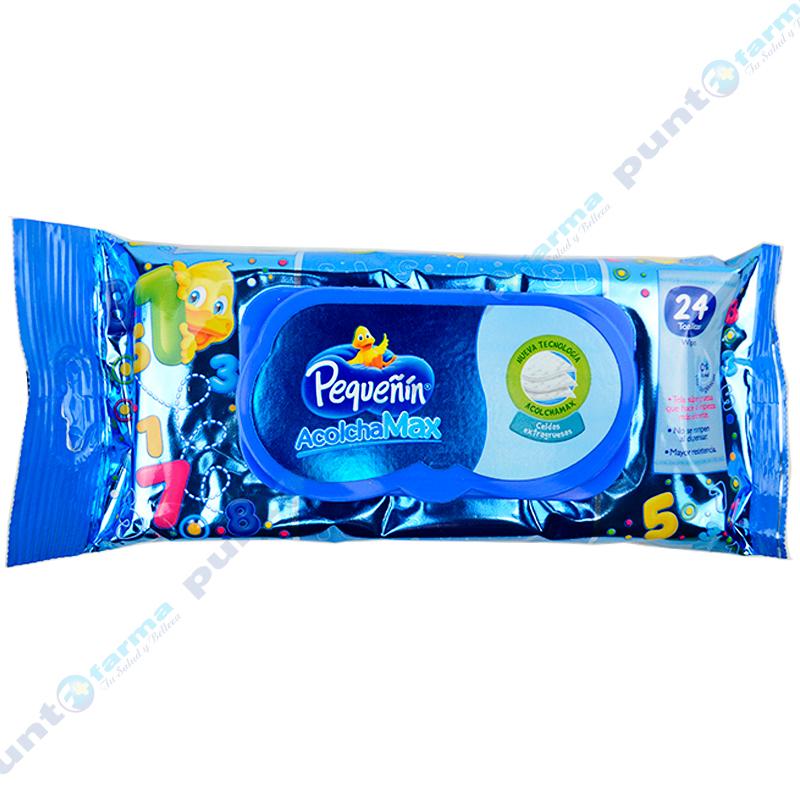 Imagen de producto: Toallitas Húmedas AcolchaMax Pequeñin® - Cont. 24 unidades