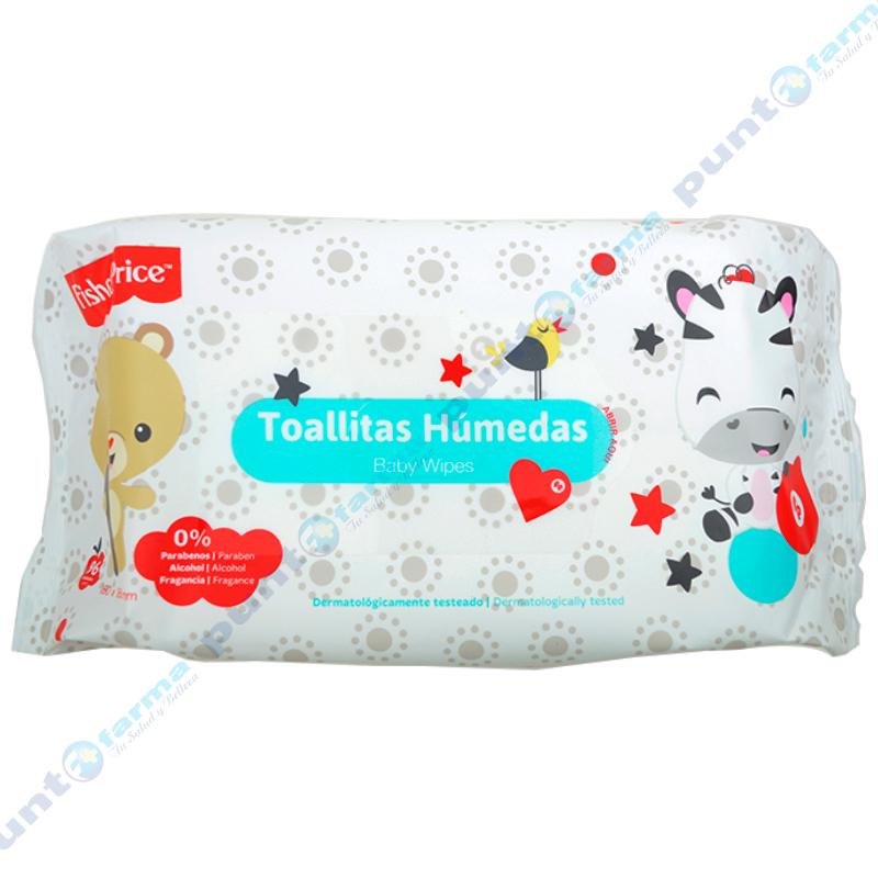 Imagen de producto: Toallitas Húmedas Baby Wipes Fisher Price - Cont. 96 unidades