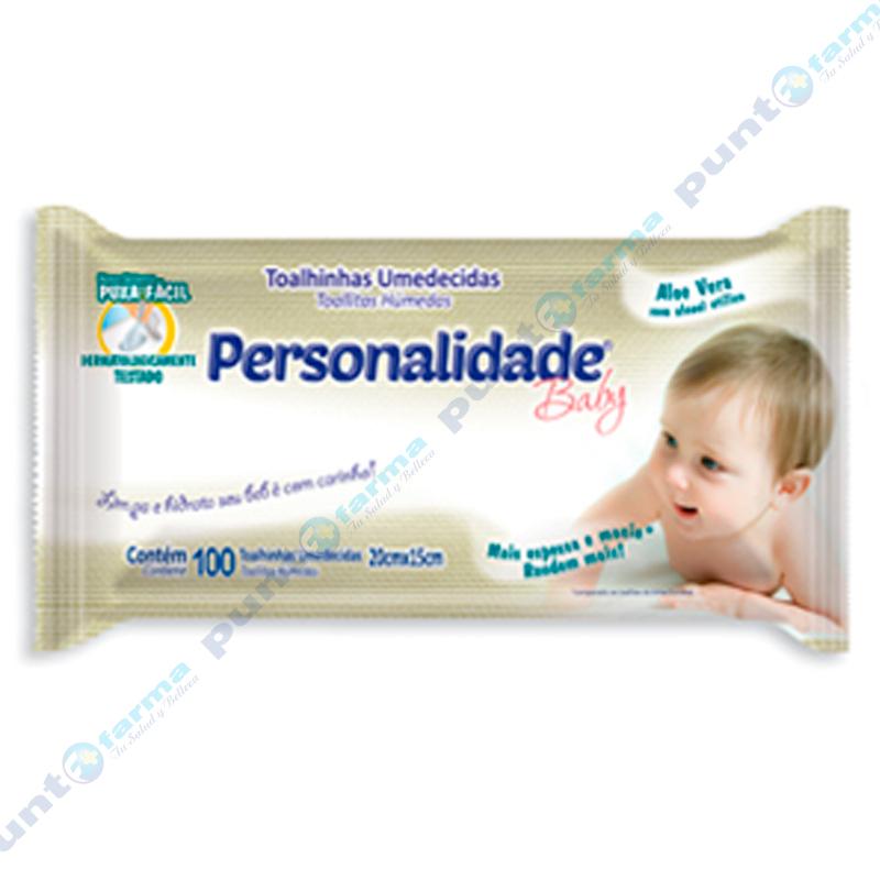 Imagen de producto: Toallitas Húmedas Personalidade Baby - Cont. 100 unidades