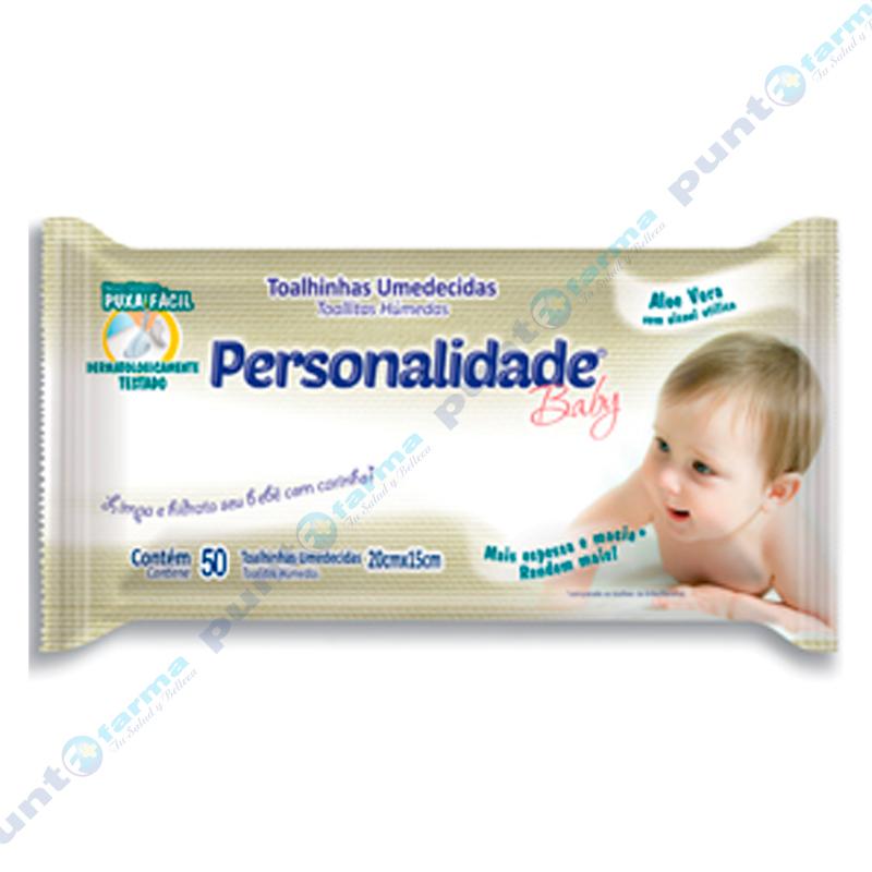 Imagen de producto: Toallitas Húmedas Personalidade Baby - Cont. 50 unidades
