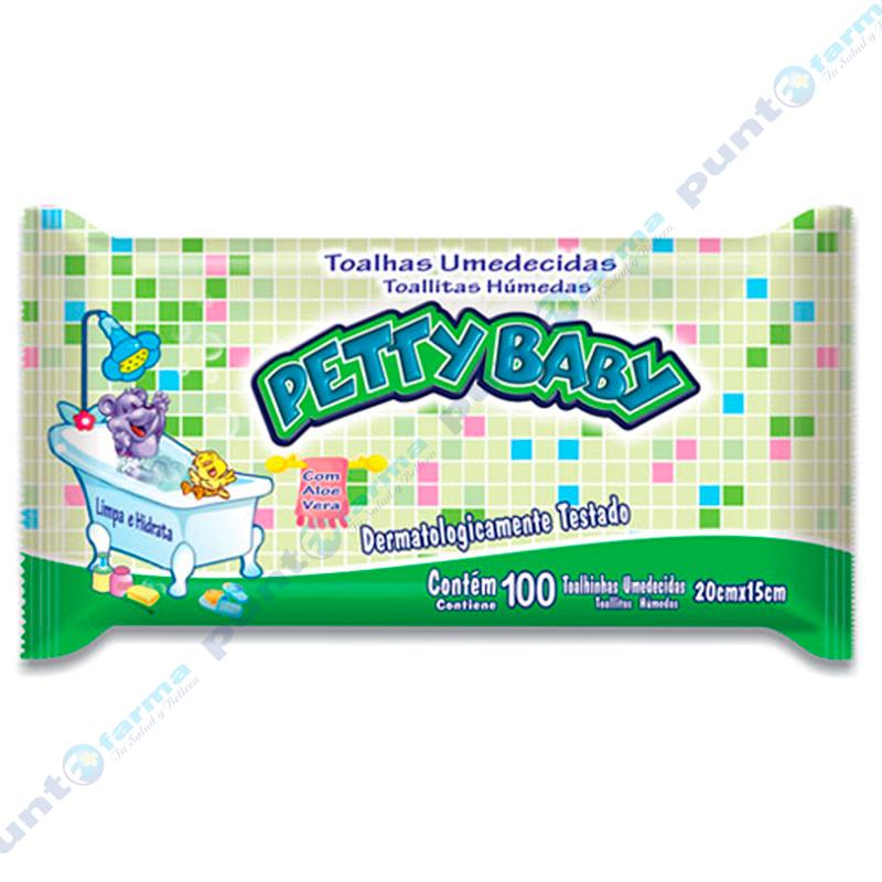 Imagen de producto: Toallitas Húmedas Pretty Baby - Cont. 100 unidades