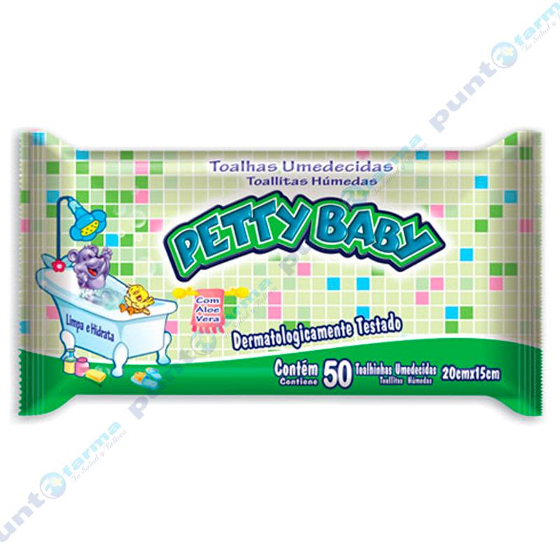 Imagen de producto: Toallitas Húmedas Pretty Baby - Cont. 50 unidades