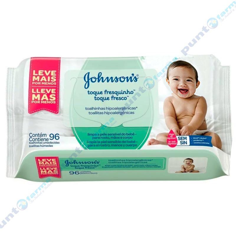 Imagen de producto: Toallitas Húmedas Toque Fresco Johnson's® - Cont. 96 unidades