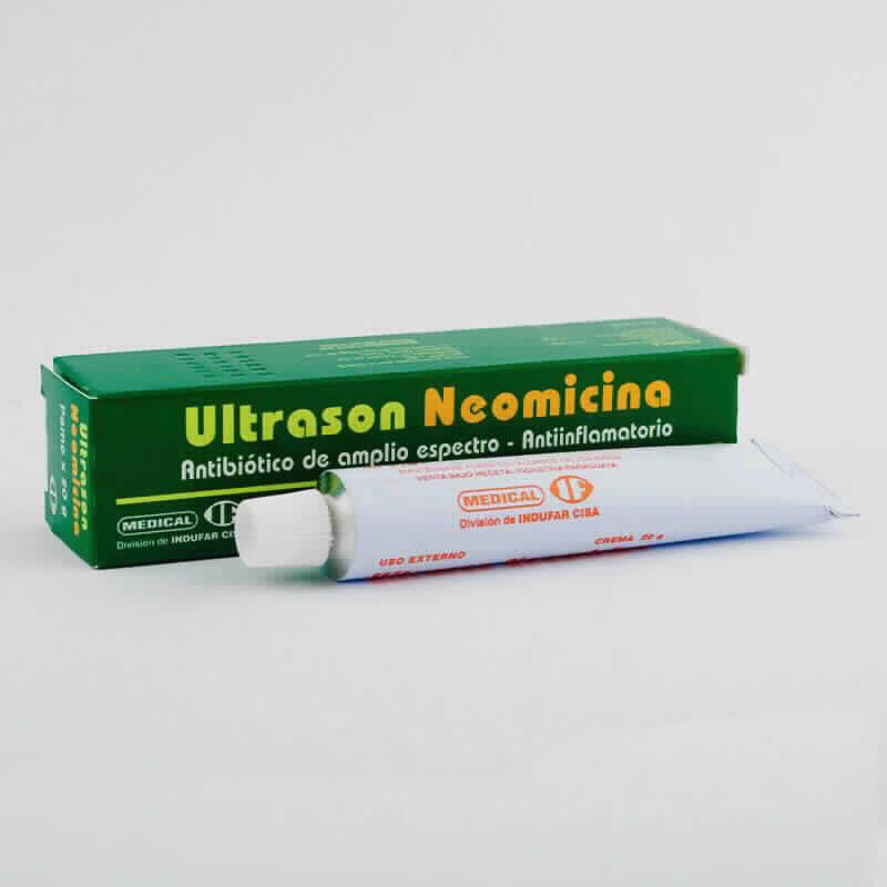 Imagen de producto: Ultrason Neomicina - Crema de 20 gr.