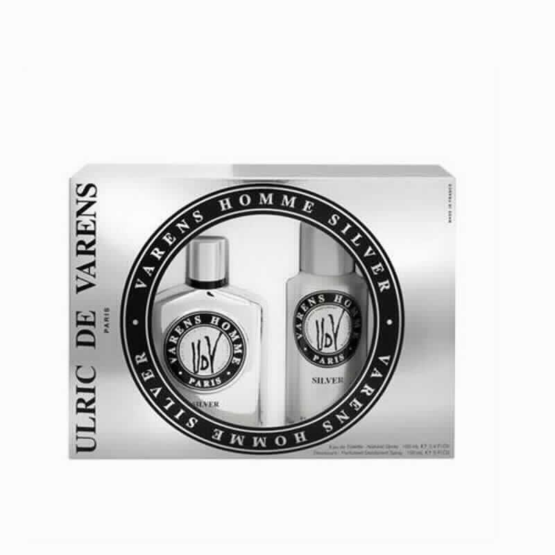 Imagen de producto: Varens Coffert Homme Silver 100ml+Desodorante 150ml Ulric Varens