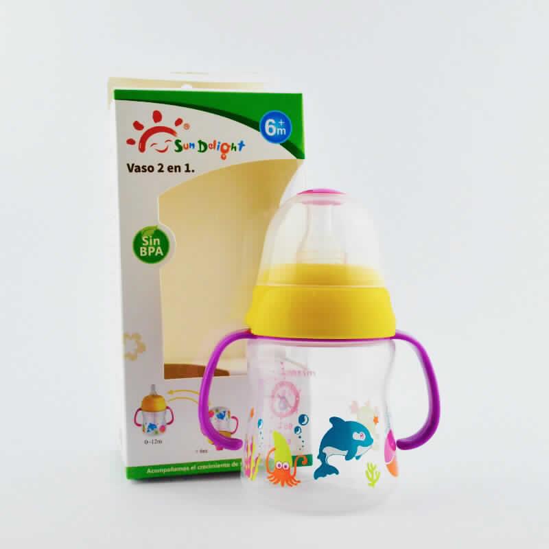 Imagen de producto: Vaso 2 a 1 Sun Delight - Cont. 180 ml