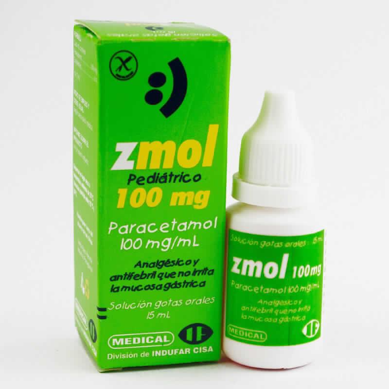 Imagen de producto: Z-mol Paracetamol - Gotero de 15ml