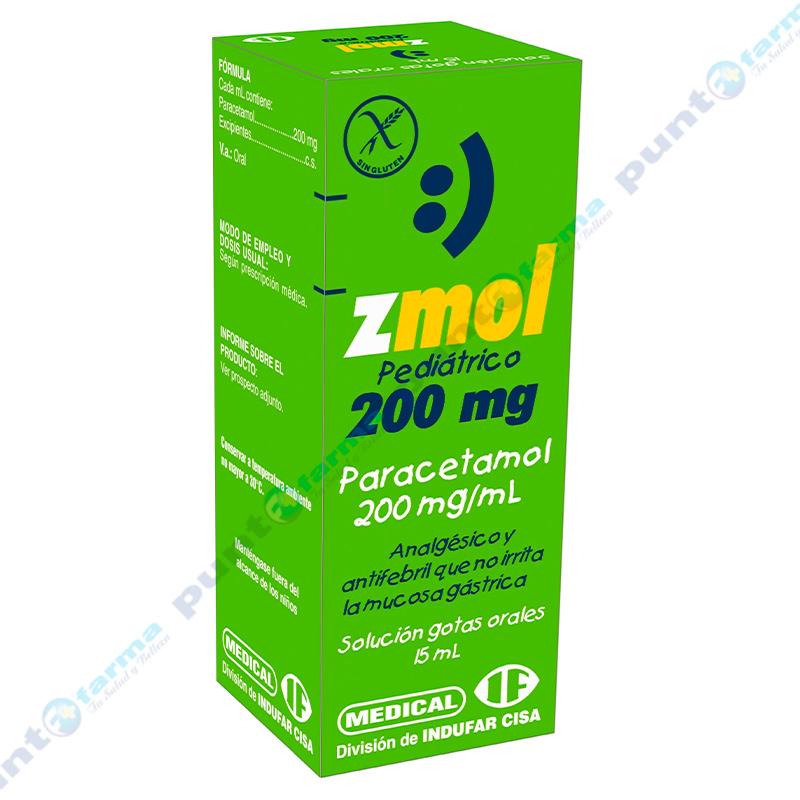 Imagen de producto: Z-mol Pediátrico 200 mg - 15mL