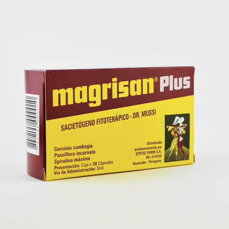 Imagen de producto: magrisan®  Plus Sacietógeno Fitoterápico - Dr. Mussi - Caja de 30 cápsulas